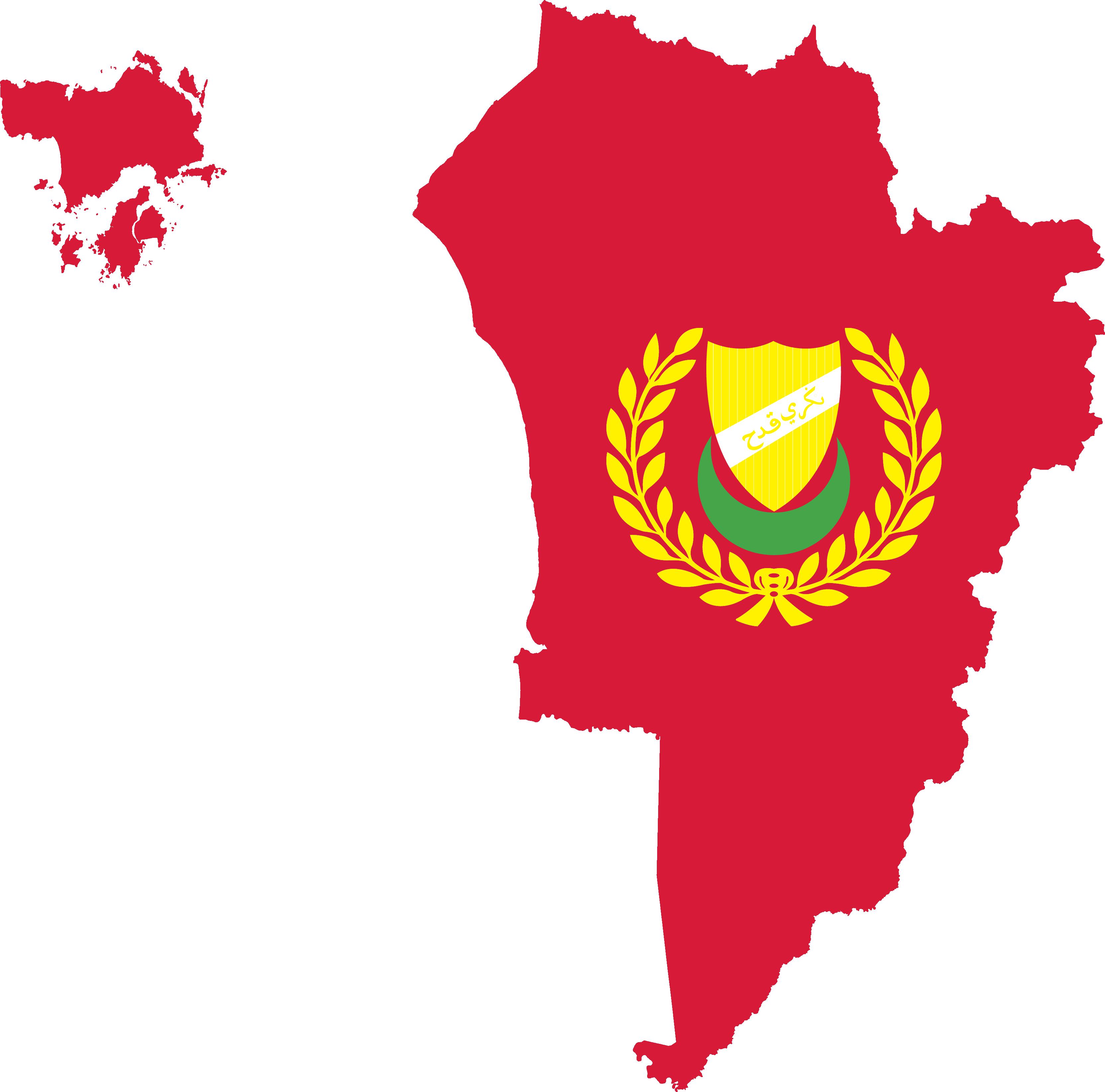 map of kedah