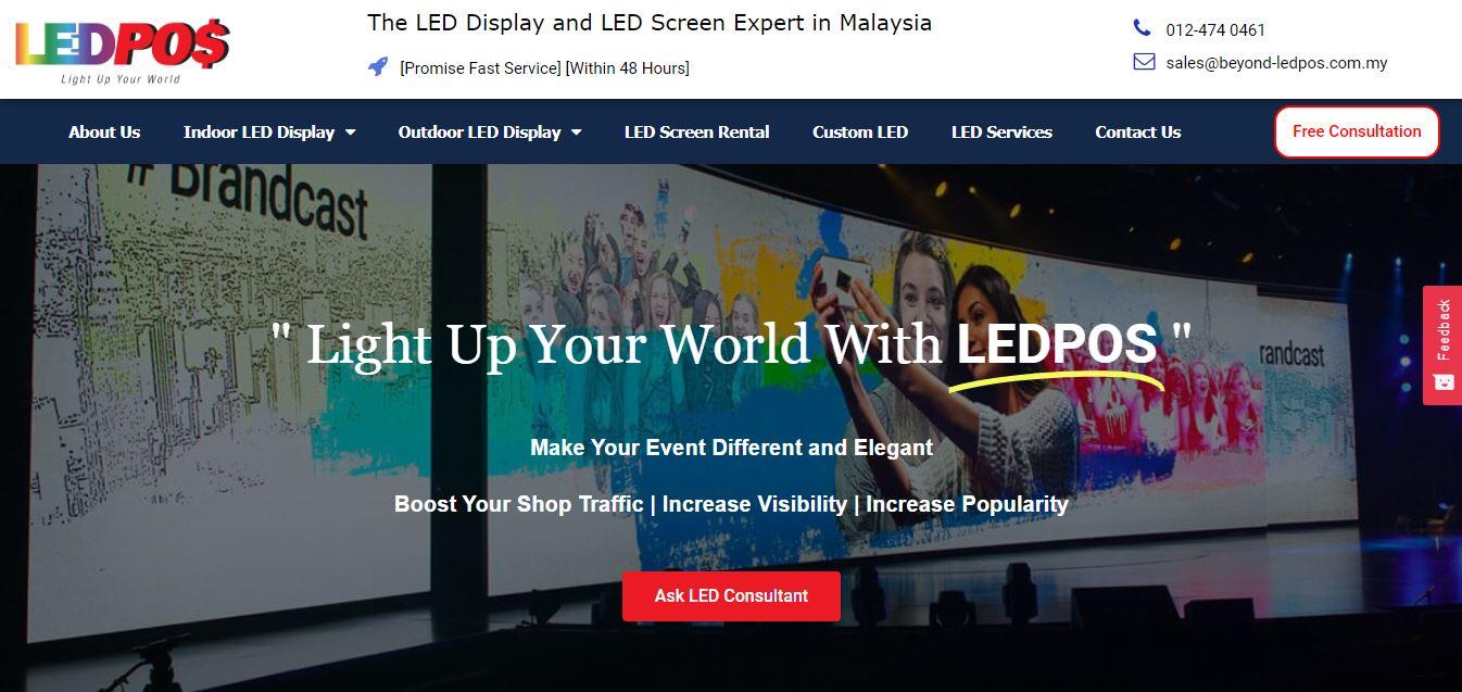 SEO Website for B2B client LED