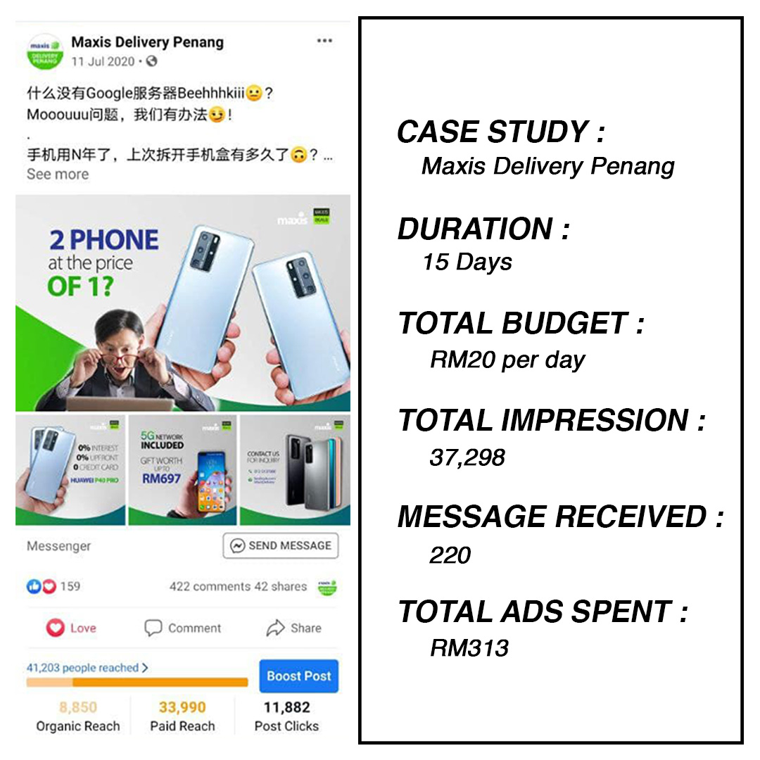 maxis delivery penang