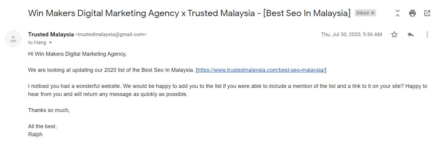 Featured by Trusted Malaysai