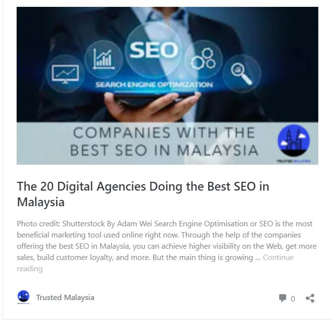 Get Featured As 20 Best Digital Marketing Agencies in Malaysia 2