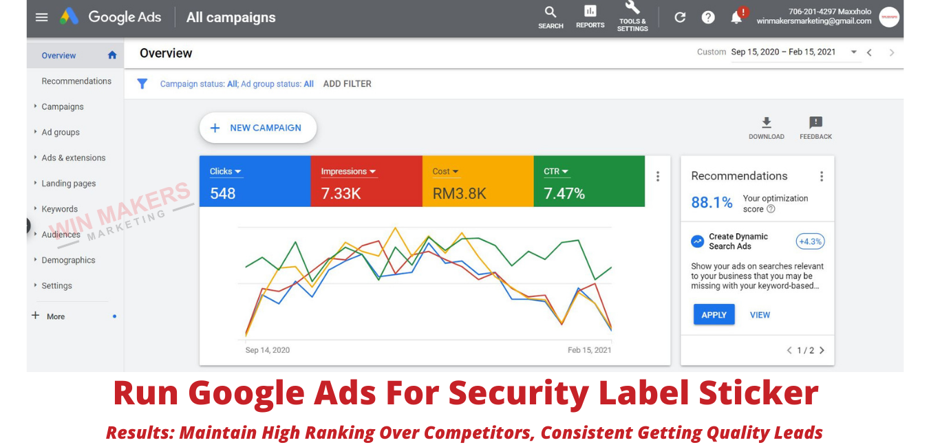 Google Ads Agency Results For Clients (3)