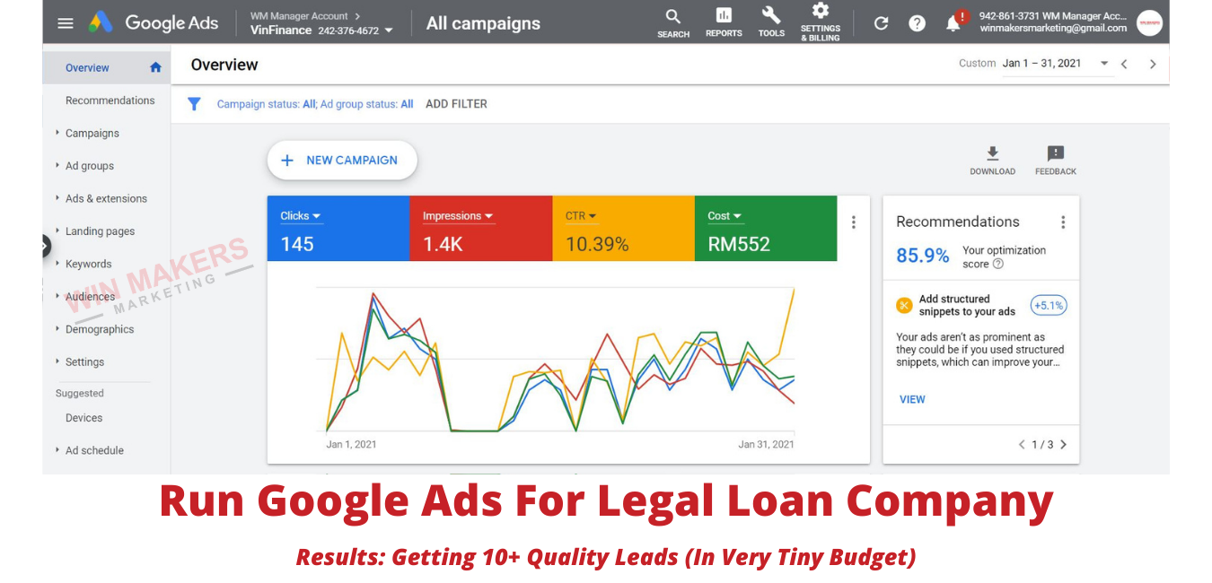 Google Ads Agency Results For Clients (4)