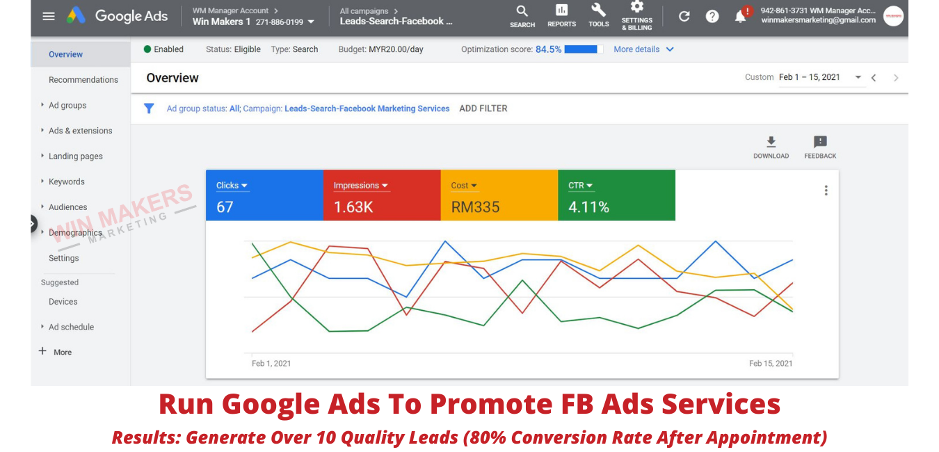 Google Ads Agency Results For Clients (5)