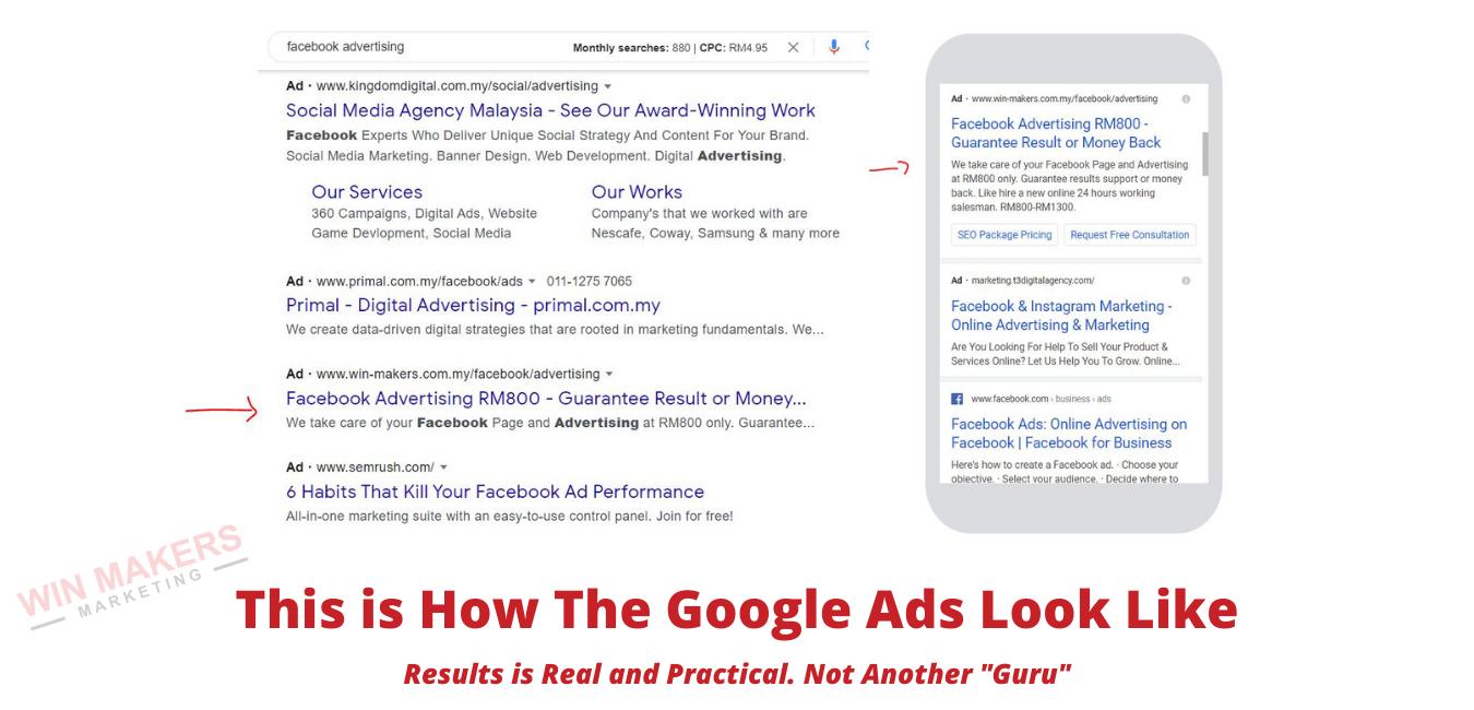 Google Ads Showcase